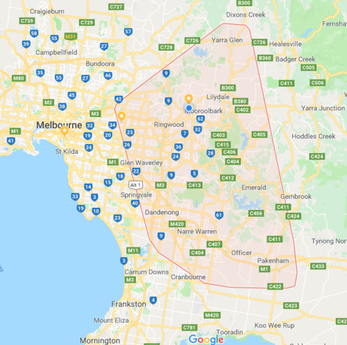 image of locksmith services area in melbourne